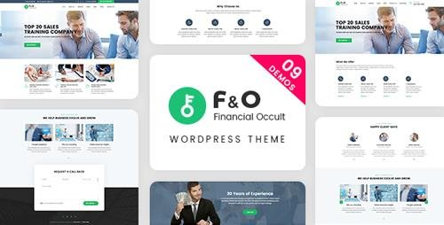 ThemeForest - F&O v1.2.0 - Consultant Finance WordPress Theme - 19919287