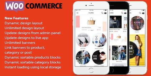 CodeCanyon - ionic 3 App for WooCommerce v1.9 (Update: 11 January 19) - 19128672