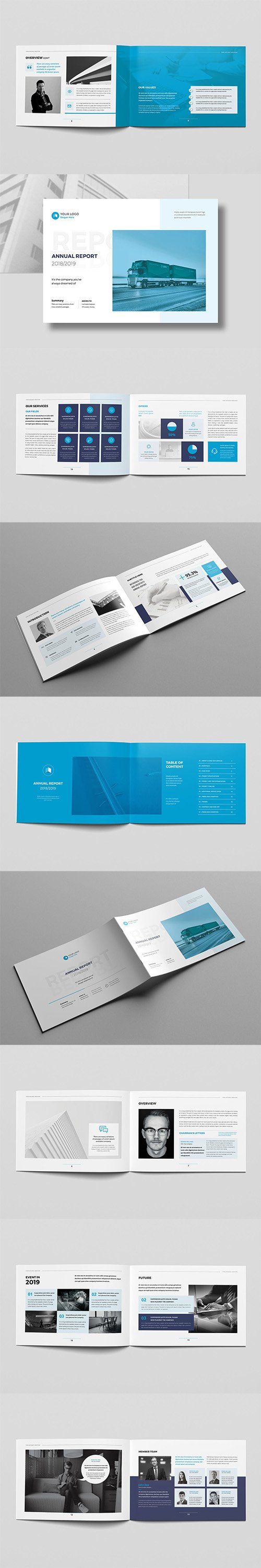 Annual Report Landscape A4
