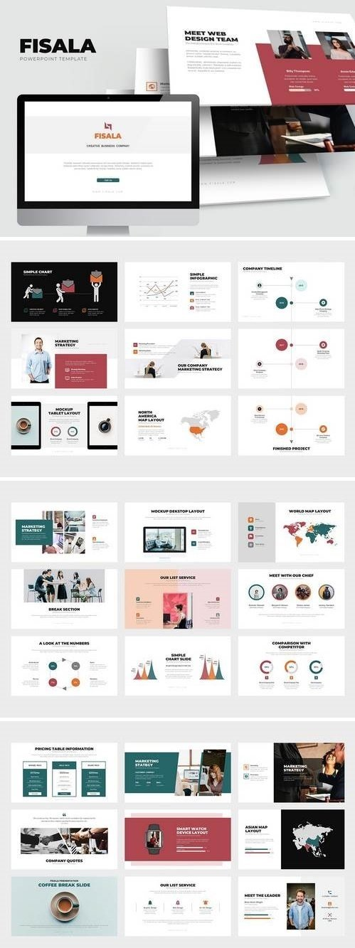 Fisala : Clean Digital Age Corporate Powerpoint