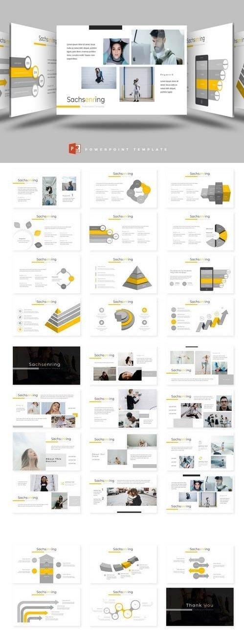 Sachsenring - Powerpoint, Keynote, Google Sliders Templates