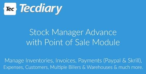 CodeCanyon - Stock Manager Advance with Point of Sale Module v3.4.11 - 5403161 - NULLED