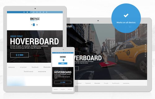 Ait-Themes - OnePage v1.34 - WordPress Theme For Business & Startups