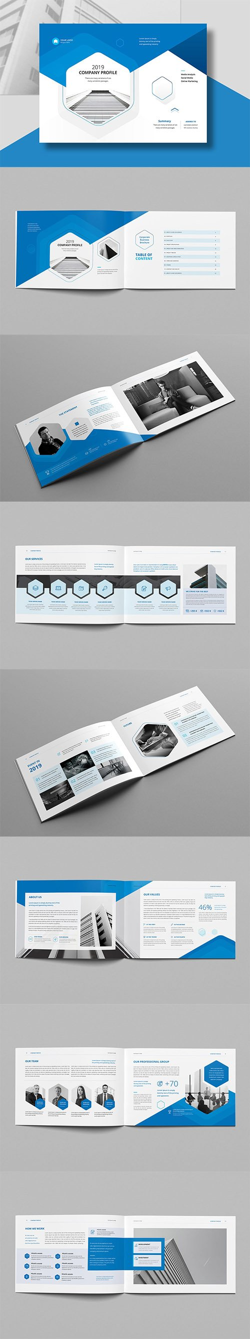Company Profile Landscape A4 INDD