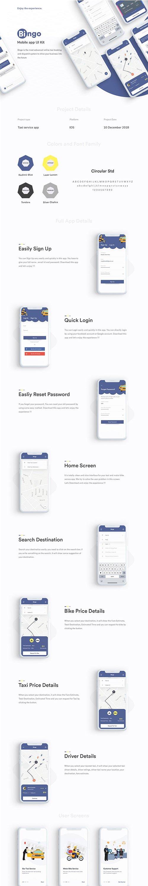 Bingo App UI Kit