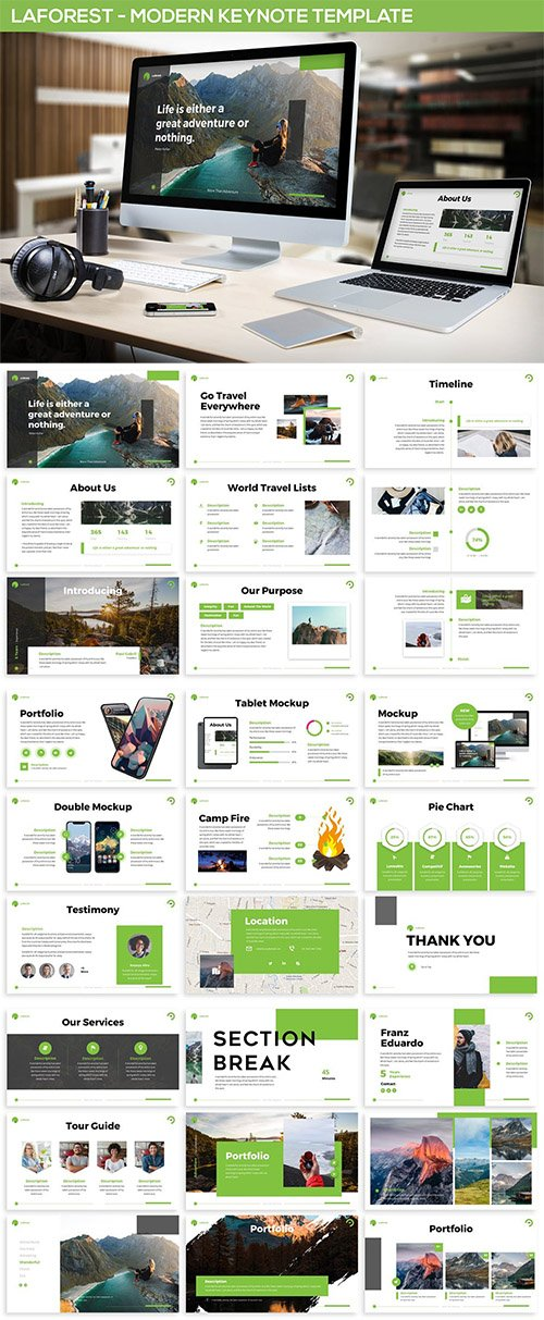 Laforest - Modern Keynote Template