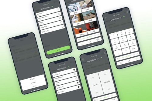 Radio - Smarthome Mobile UI - FP