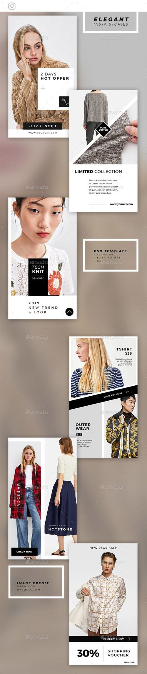 GraphicRiver - Creative Instagram Stories 23100836