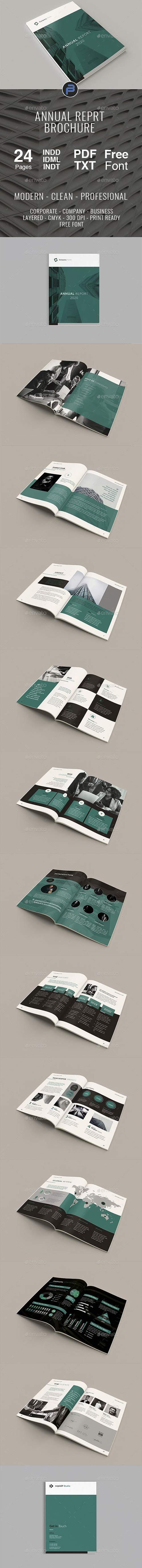GraphicRiver - Annual Report 23103108