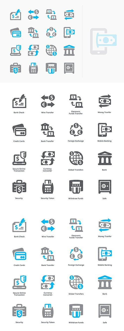 Personal & Business Finance Icons Set 3 - Sympa