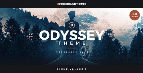 ThemeForest - Odyssey v2.1.4 - Personal WordPress Blog Theme - 15688344