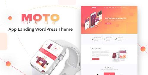 ThemeForest - Moto v1.1.3 - WordPress Landing Page Theme - 20693250