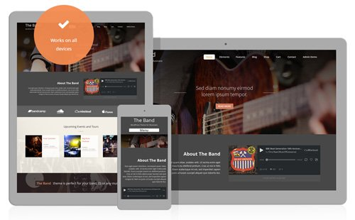 Ait-Themes - Band v1.103 - Theme for Bands & Musicians