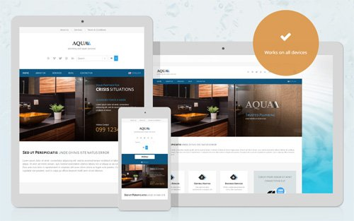 Ait-Themes - Aqua v1.54 - WordPress Theme For Plumbers