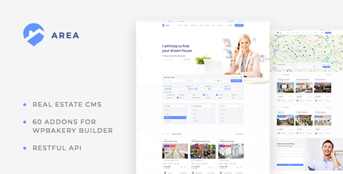 ThemeForest - Area v1.0.14 - Real Estate WordPress theme for Agencies and Realtors - 21110474