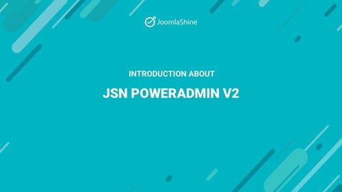 JSN PowerAdmin 2 Pro v1.1.2 - Innovative Joomla Admin Tool