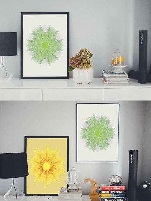 PSD Mock-Ups - Art Frames