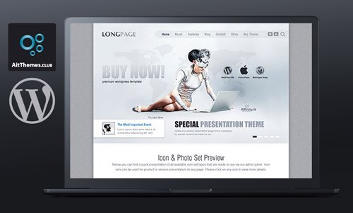 Ait-Themes - Longpage v1.28 - Product Service Presentation WordPress Theme