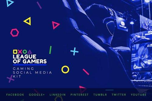 Gaming Community - Social Media Kit