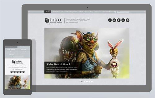 Ait-Themes - Intro v1.17 - Classic & Simple WordPress Theme