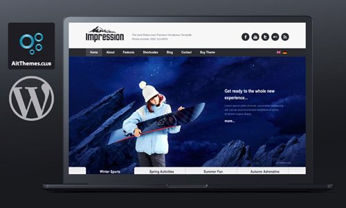Ait-Themes - Impression v1.31 - Presentation WordPress Theme