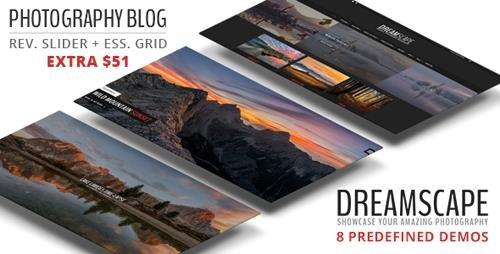 ThemeForest - Dreamscape Photography v1.2 - A Responsive WordPress Theme - 19318333