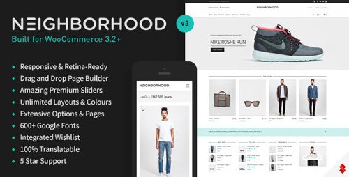 ThemeForest - Neighborhood v3.5.1 - Responsive Multi-Purpose Shop Theme - 5086341