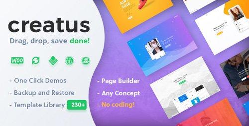 ThemeForest - Creatus v1.1.2 - Ultimate Multipurpose WordPress Theme - 22280821