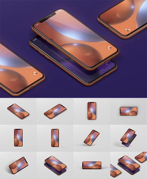 Phone XR Mockup PSD