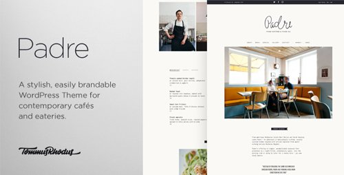 ThemeForest - Padre v1.0.7 - Cafe Restaurant WordPress Theme - 13035983
