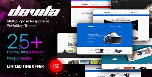 ThemeForest - Devita v1.0 - Multipurpose Responsive PrestaShop Theme - 23148857