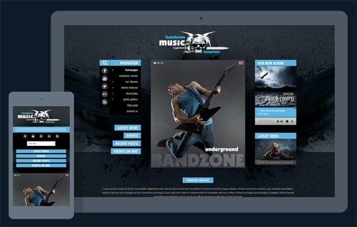 Ait-Themes - BandZone v1.37 - WordPress Theme By Musicians