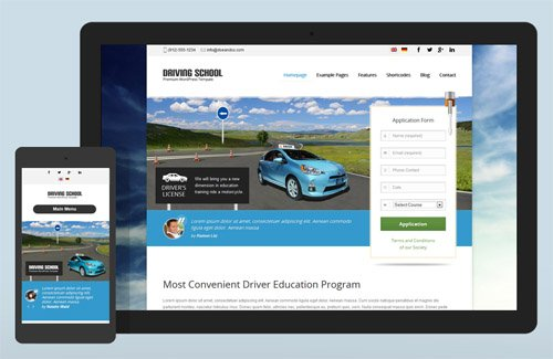 Ait-Themes - Driving School v1.26 - WordPress Theme For Small Business