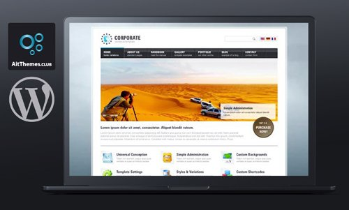 Ait-Themes - Corporate Easy v1.32 - WordPress Theme