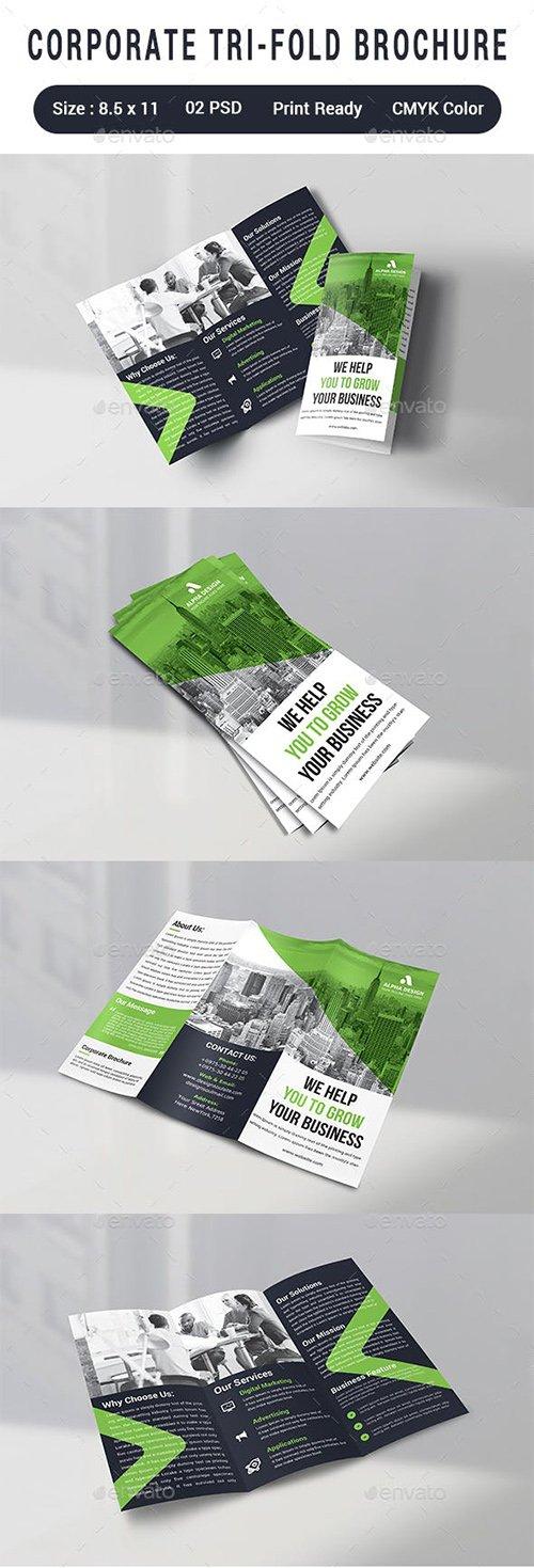 GraphicRiver - Corporate Tri-fold Brochure 23109863