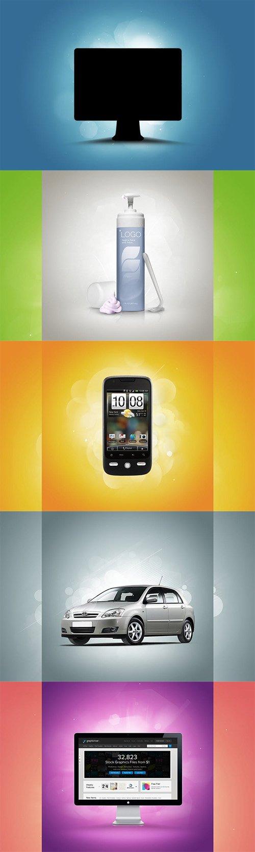Colourful Bokeh Background Creator