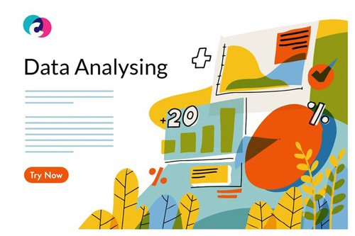 Data analyse graphic template