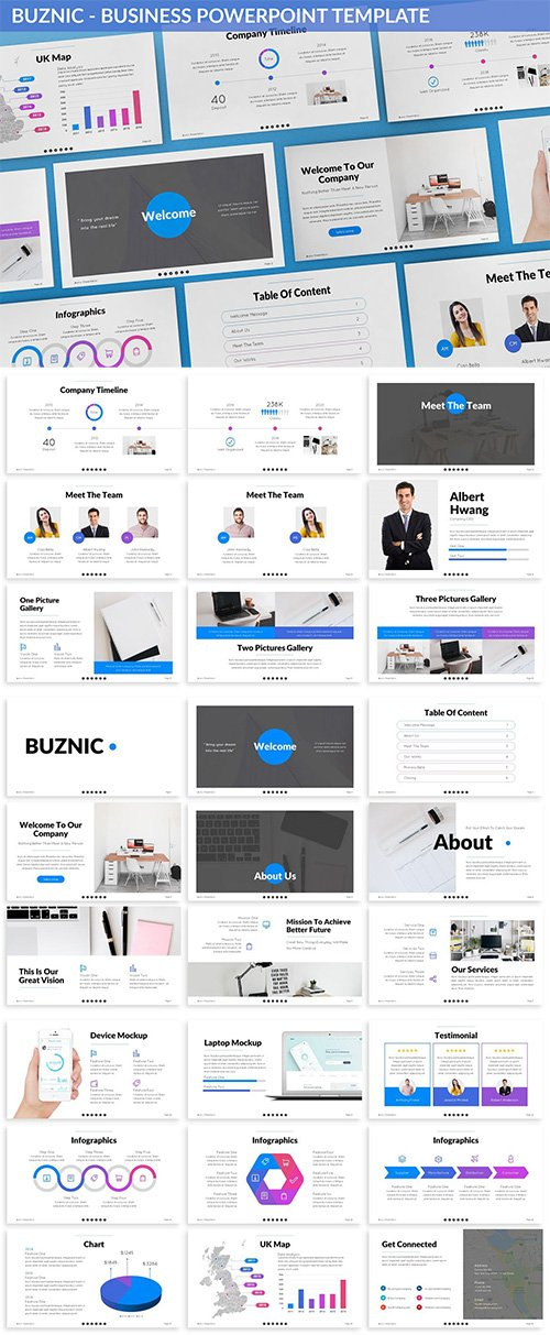 Buznic - Business Powerpoint Template