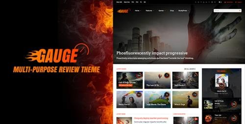 ThemeForest - Gauge v6.39 - Multi-Purpose Review Theme - 8676079