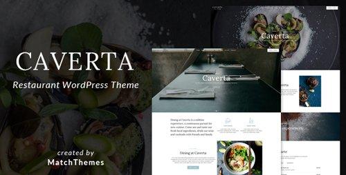 ThemeForest - Caverta v1.1.6 - Fine Dining Restaurant WordPress Theme - 22016826