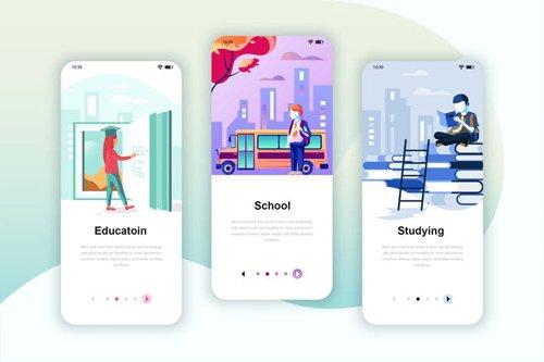 Instagram Stories Onboarding Screens Mobile App