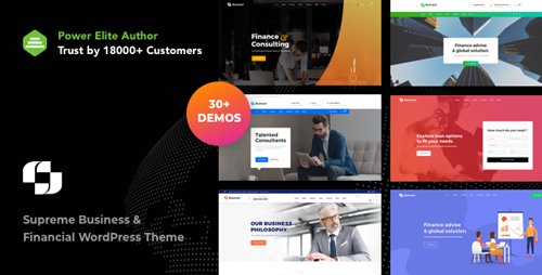 ThemeForest - Businext v1.1.3 - Supreme Businesses and Financial Institutions WordPress Theme - 21535442