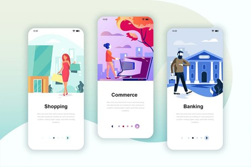 Instagram Stories Onboarding Screens Mobile App 3