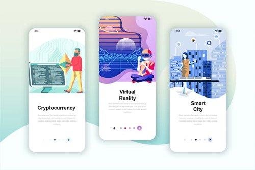 Instagram Stories Onboarding Screens Mobile App 7