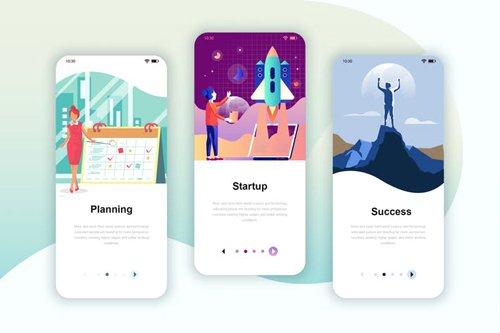 Instagram Stories Onboarding Screens Mobile App 8