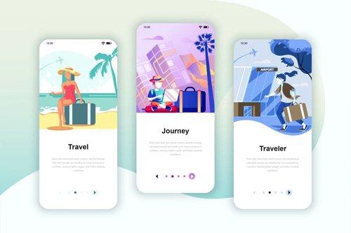Instagram Stories Onboarding Screens Mobile App 15