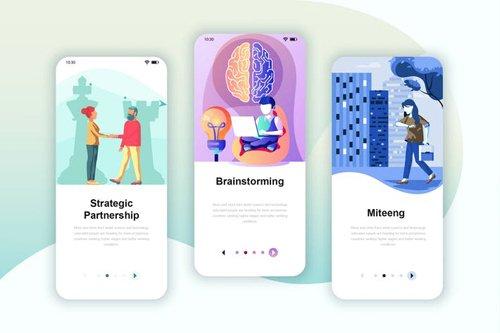 Instagram Stories Onboarding Screens Mobile App 17