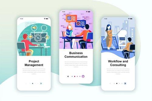 Instagram Stories Onboarding Screens Mobile App 19