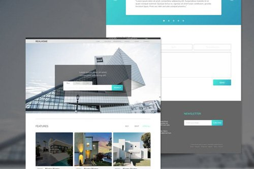 Realhome Real Estate Adobe XD Template