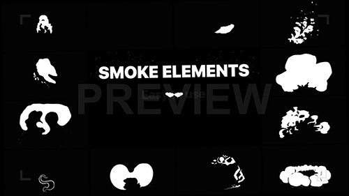 MA - 2D FX Puffy Smoke Elements 133681